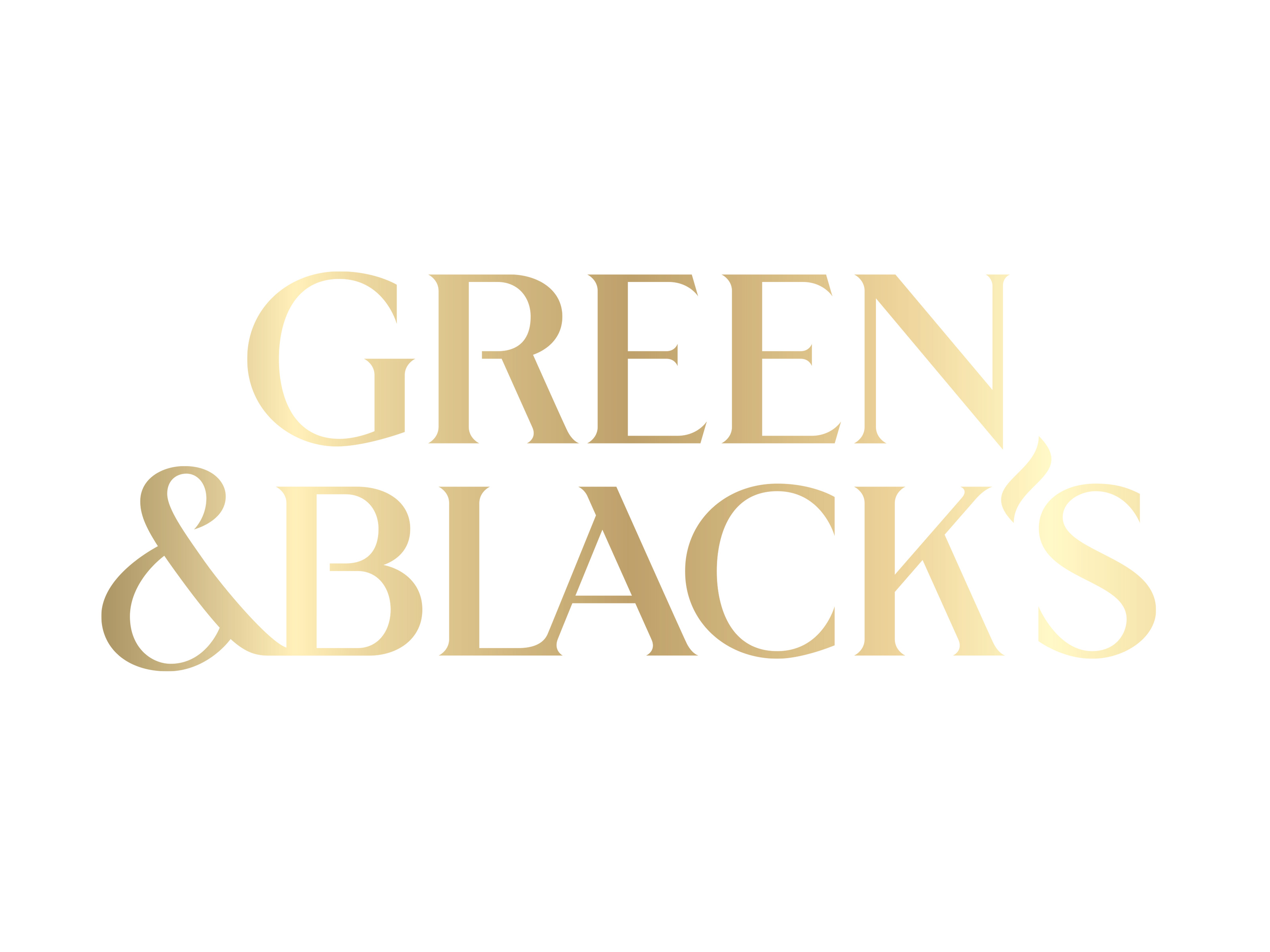 Green and Blacks logga