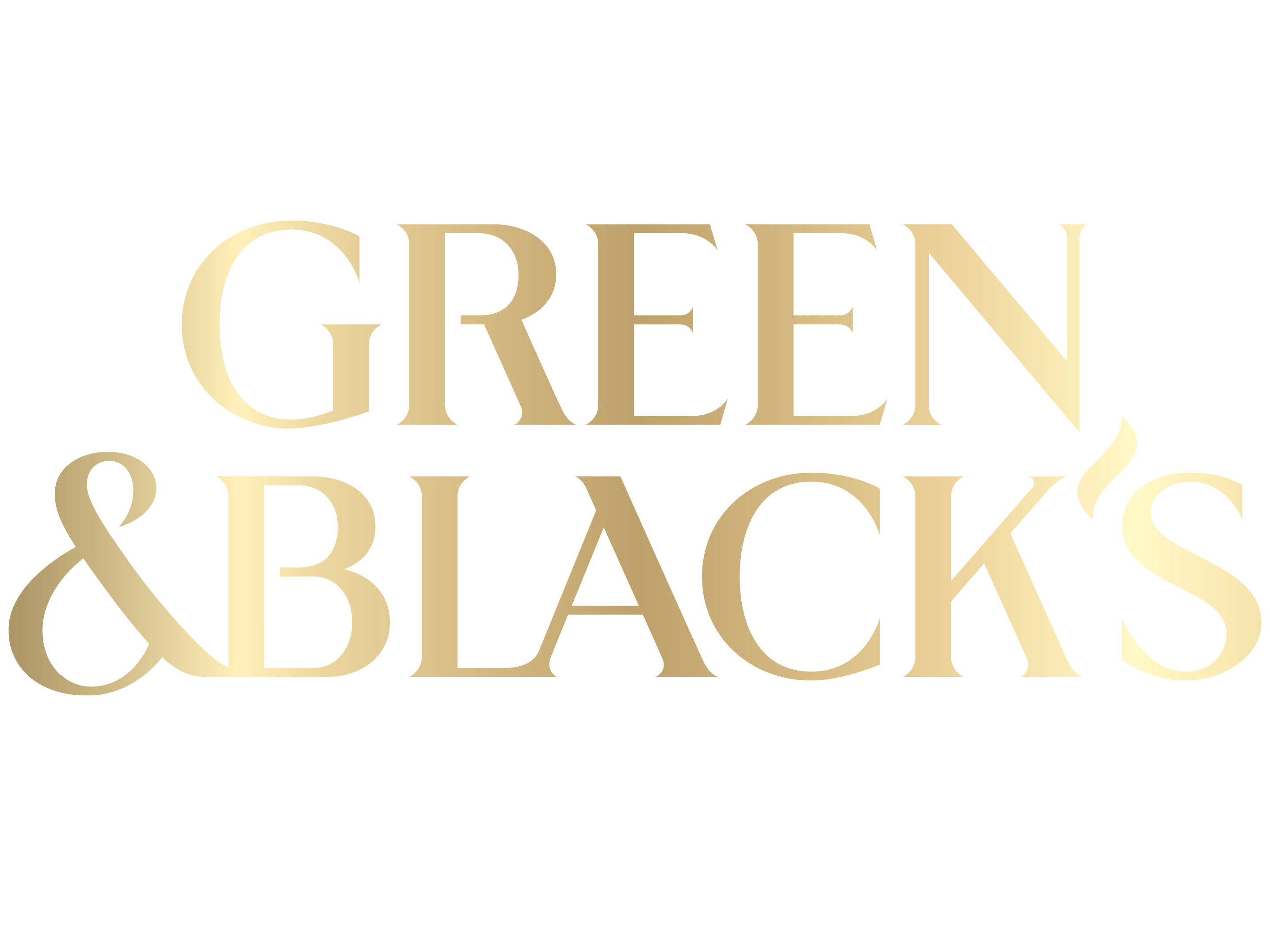 Green & Black logga