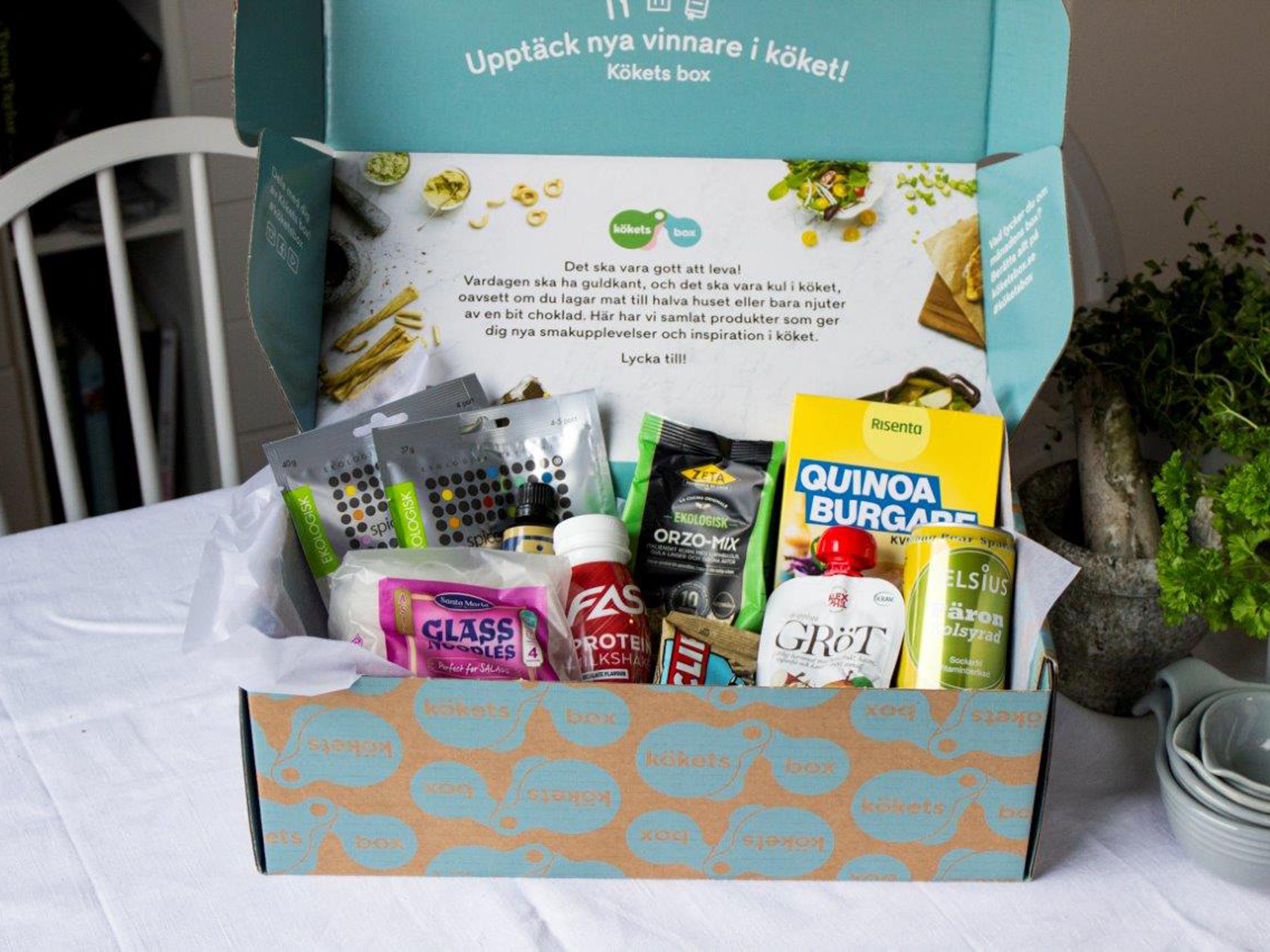 Kökets box januari 2