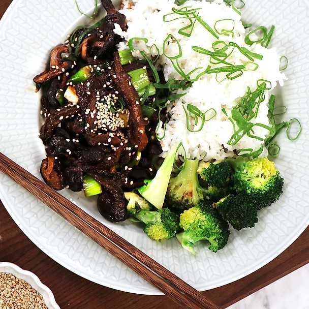 Grillad aubergine med sesam och krasse Recept Tasteline