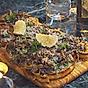 Kantarelltoast med parmesan