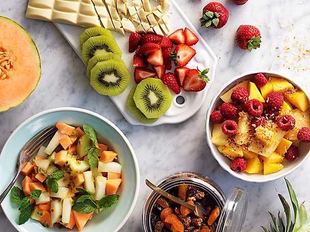 4 sorters fruktsallad