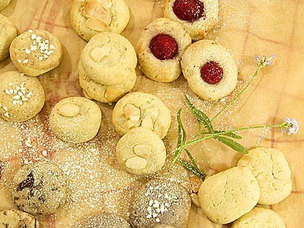 7 sorters kakor på samma deg