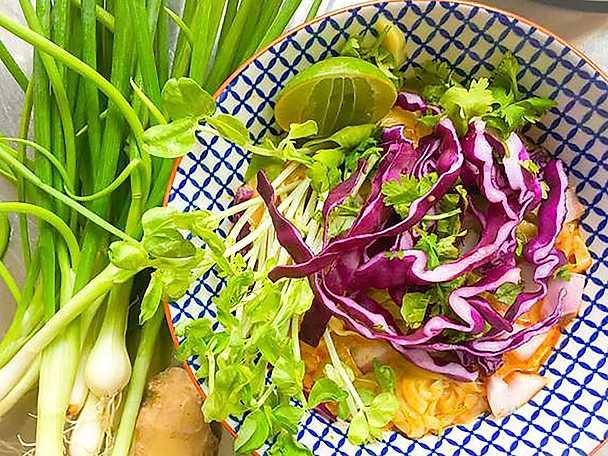 Abba blogginlägg 2 Thaisoppa