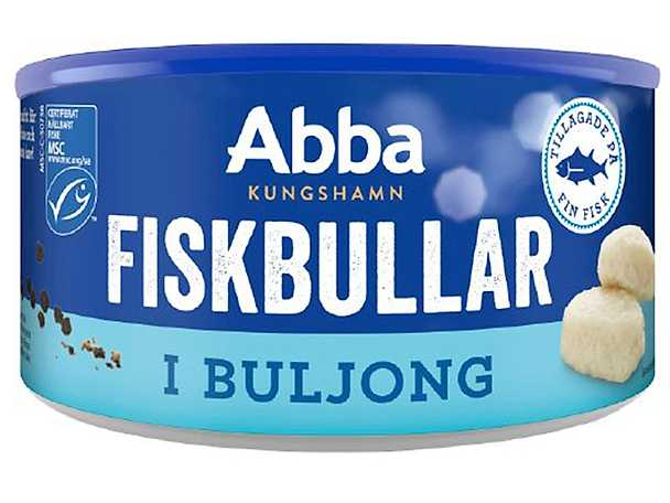 Abba fiskbullar i buljong