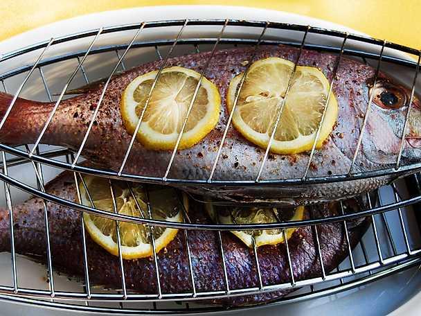 Abba grilla fisk
