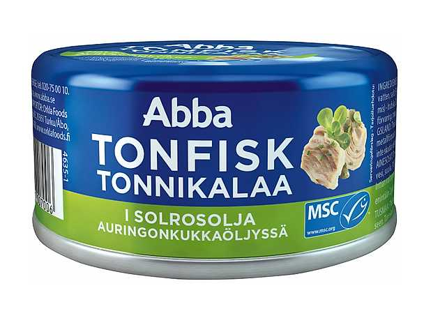 Abba - tonfisk i solrosolja - produktbild