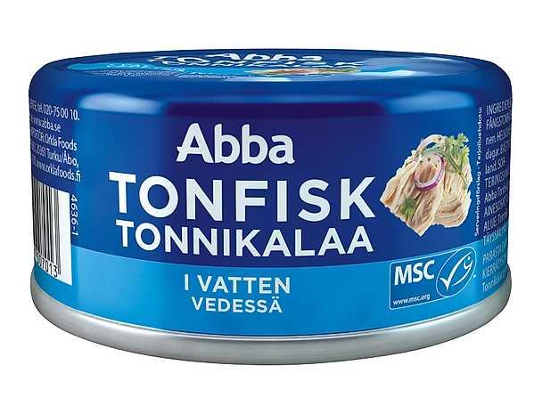Abba - tonfisk i vatten - produktbild
