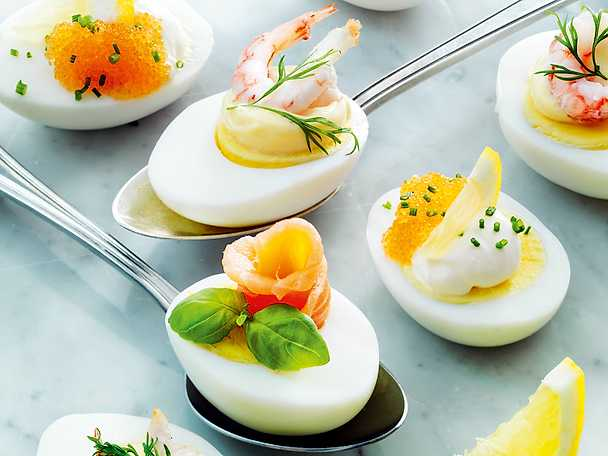 Ägghalvor