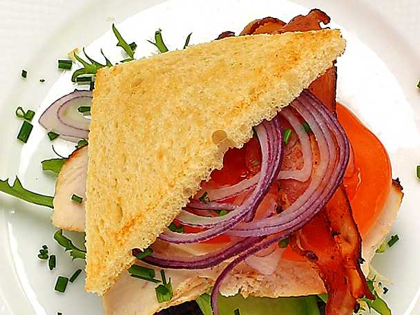 Äkta Club Sandwich
