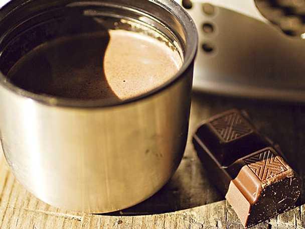 Äkta varm choklad