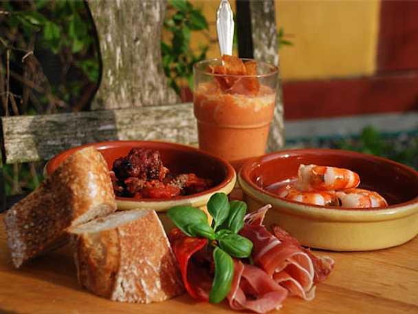 Albondigas (heta spanska köttbullar) i chilisås