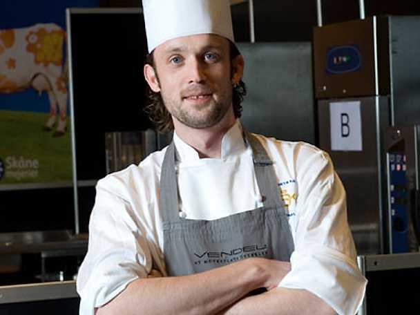 Alexander Sjögren kom trea i Årets kock 2009