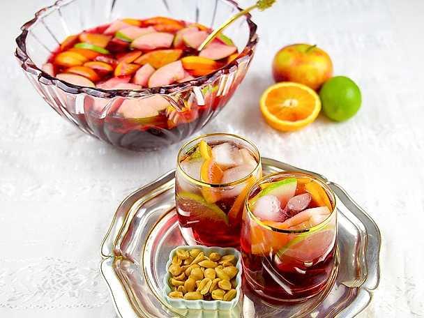 Alkoholfritt sangriabål