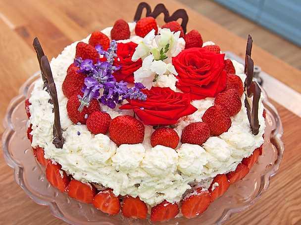 Alvas kungliga tårta