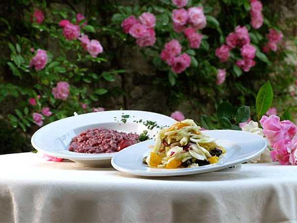 Amaronerisotto - Risotto på amaronevin och grönsaksbuljong
