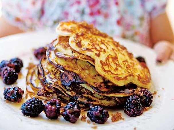 American yoghurt pancakes