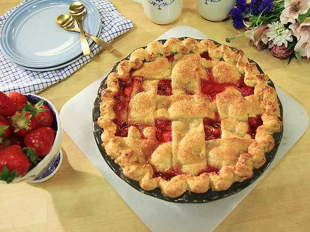 Amerikansk jordgubbspaj