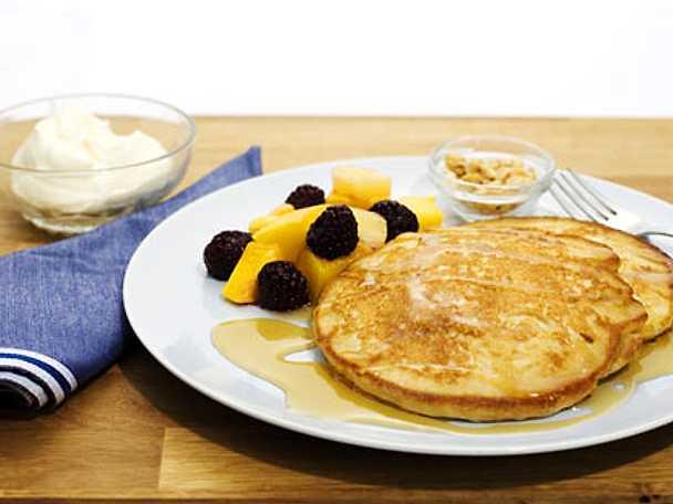 Amerikanska pannkakor pancakes recept