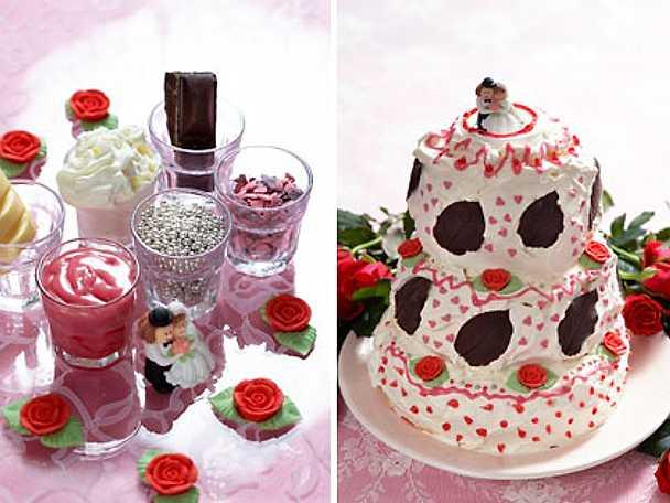 Amorinas och amors tårta