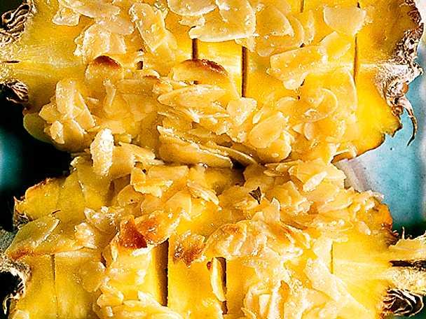 Ananas med toscasmet