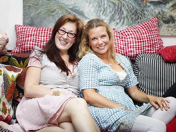 Anette Rosvall och Emma Hamberg