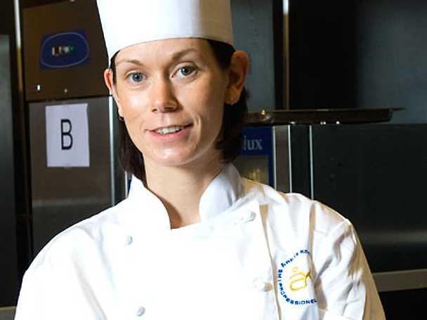 Anna kom på delad fjärdeplats i Årets kock 2009