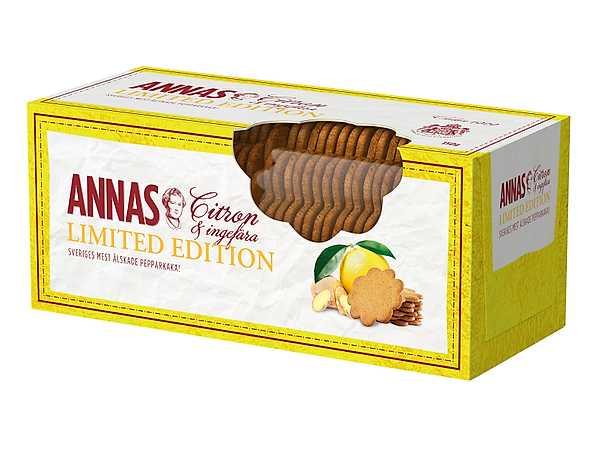 Annas limited edition citron & ingefära