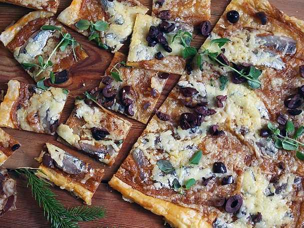 Ansjovis- och ostflarn