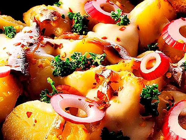 Ansjovisröra med potatis