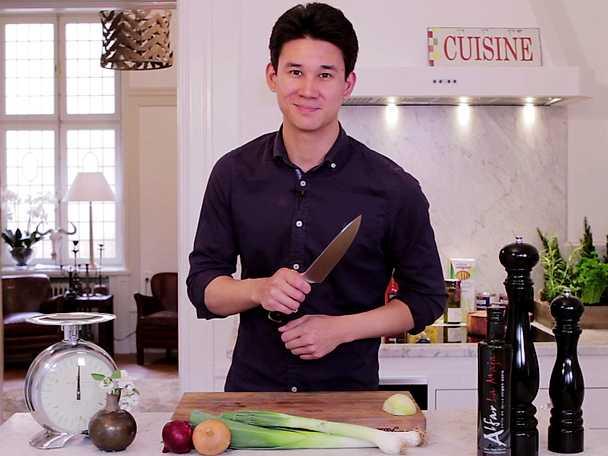 Använd kniven som ett riktigt proffs