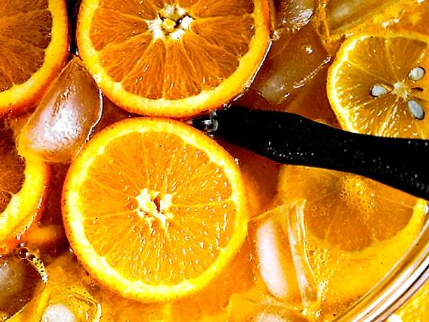 Apelsinbål