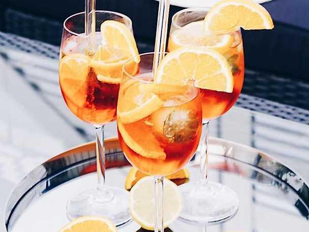Aperol spritz - mousserande aperitif