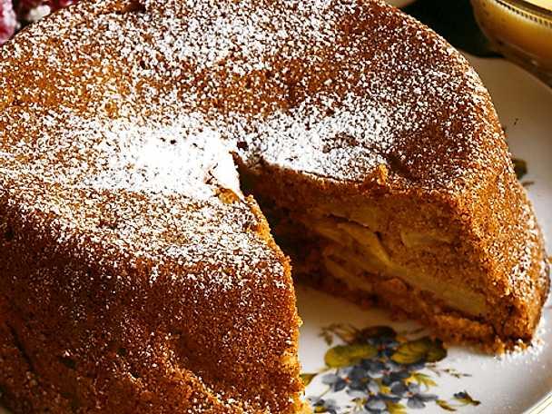 Äppelkaka på mormors vis