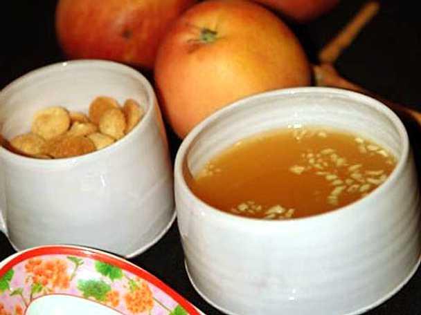 Äppelsoppa till Tony och Maries ära