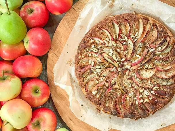 Äpple och pärontarte