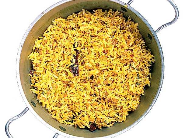 Aromatiskt gult ris