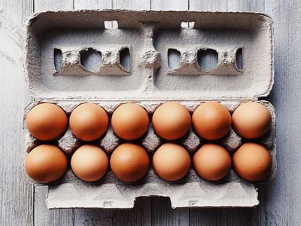 Artikel ägg KRAV eller eko bruna ägg