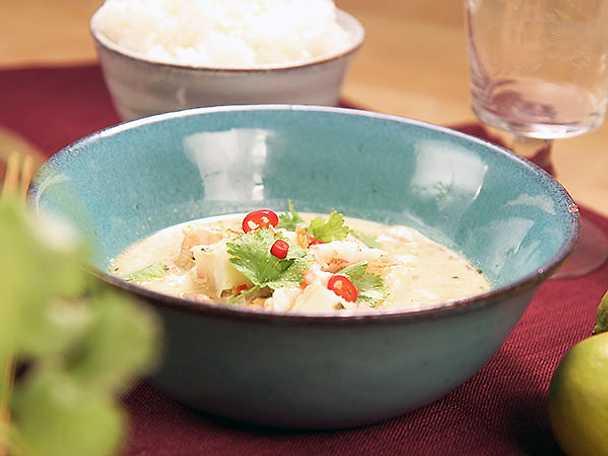 Asiatisk fiskgryta | Recept från Köket.se