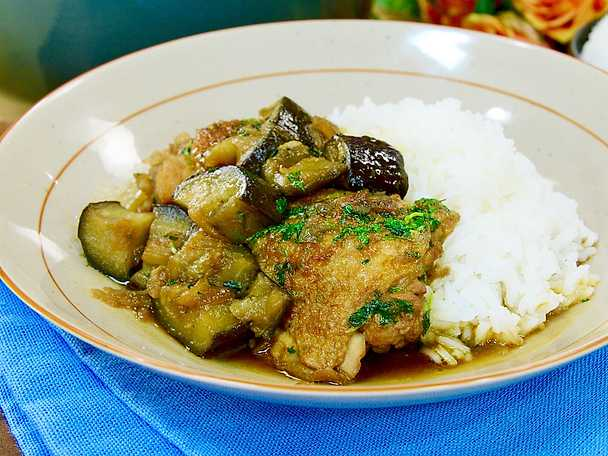 Asiatisk kycklinggryta med ris