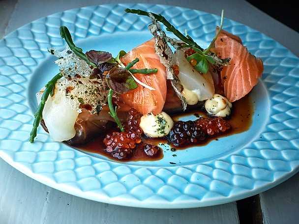 Asiatisk sashimisallad