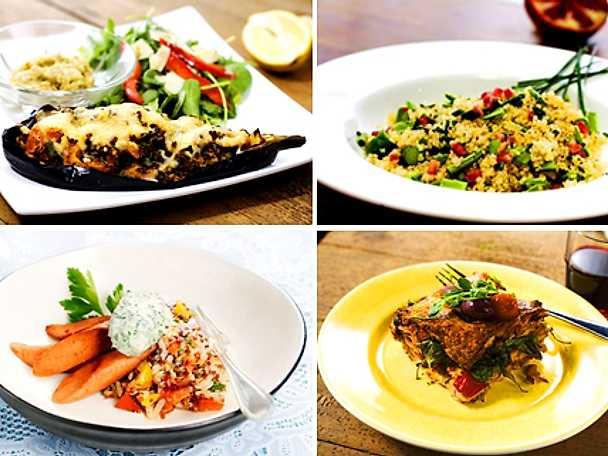 Ät vegetariskt för hälsans skull