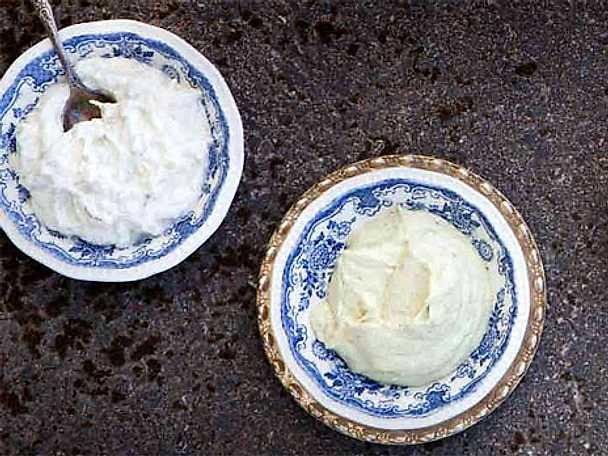 Avokado- och fetaostkräm