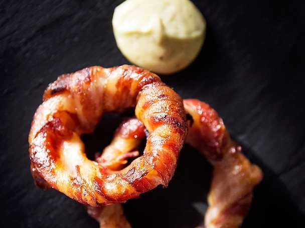 Baconlökringar