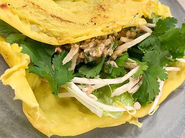 Banh Xeo - vietnamesiska pannkakor
