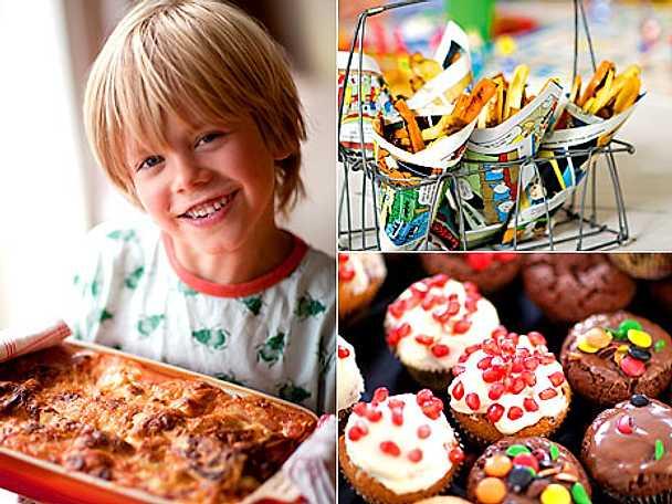 Barnens bästa recept till nyår