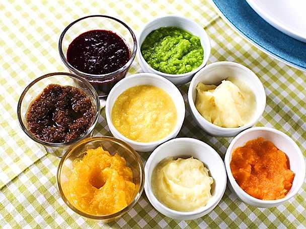 Barnmat och puréer