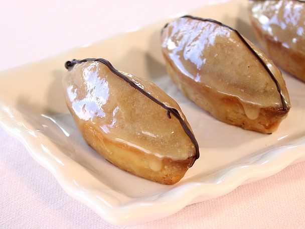 Barquette aux Marron - mördegskaka med mandel och kastanj