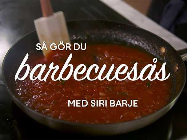 BBQ-sås - se & gör