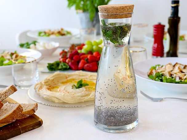 Belengo - irakisk drink med chiafrön